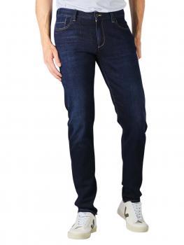 Image of Alberto Slim Jeans Sustainable Denim navy