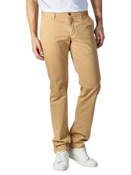 Image of Alberto Lou Pants Slim Compact Cotton yellow
