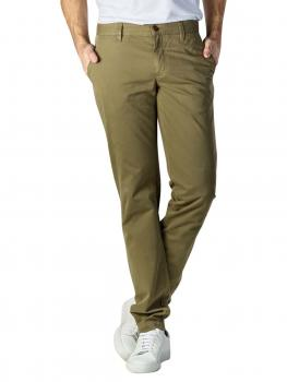 Image of Alberto Lou Pants Slim Compact Cotton green