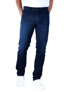 Image of Alberto Pipe Jeans Slim Luxury T400 Denim dark blue