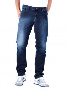 Image of Alberto Pipe Jeans Slim Noble Denim navy