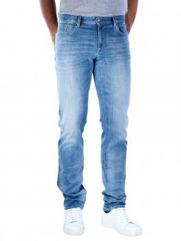 Image of Alberto Pipe Jeans Slim DS Dual FX Denim turquoise
