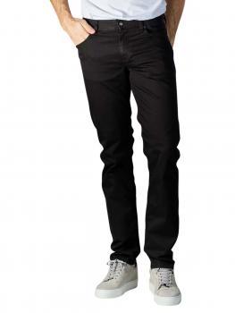 Image of Alberto Pipe Jeans Slim Fit Coolmax Denim black