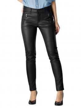 Image of Angels Skinny Jeans Pocket Zip black