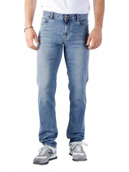 Image of Alberto Pipe Jeans Slim DS Light Tencel Denim blue