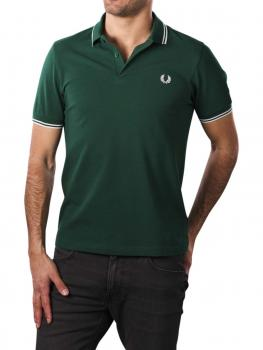 Image of Fred Perry Polo Piqué ivy/snow white