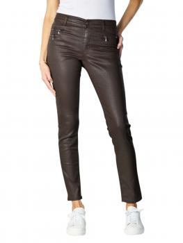 Image of Angels Malu Zip Jeans Slijm dark chocolate