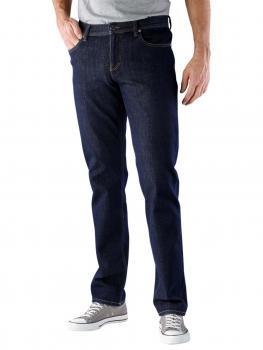 Image of Alberto Pipe Jeans Slim Bi-Stretch Denim navy