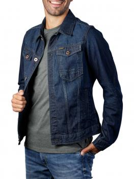 Image of G-Star Slim Jacket Arc 3d Kara Denim worn in marine blue