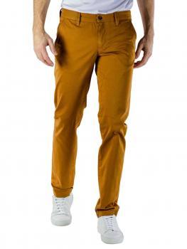 Image of Alberto Lou Pant Pima Cotton dark yellow