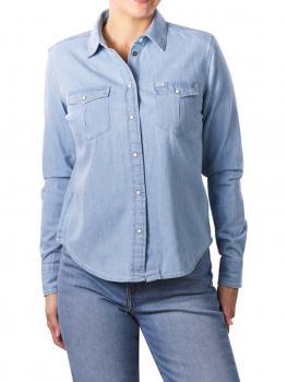 Image of Lee Western Shirt Regular summer blue