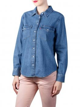 Image of Levi's Essential Western Shirt going steady
