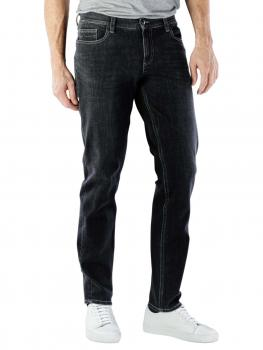 Image of Alberto Pipe Jeans Slim Bi-Stretch Denim dark grey