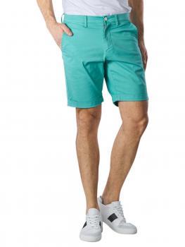 Image of Gant Sunfaded Shorts Regular green lagoon