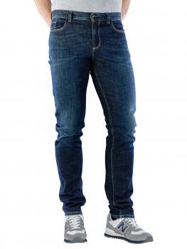Image of Alberto Pipe Jeans Slim DS Denim navy