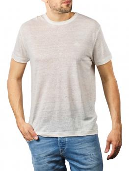 Image of Gant Linen SS T-Shirt eggshell