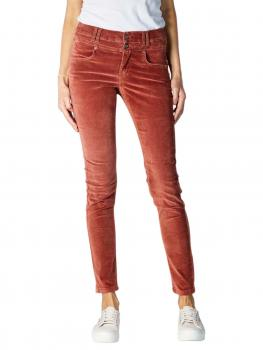 Image of Angels Skinny Button Jeans dark brick used