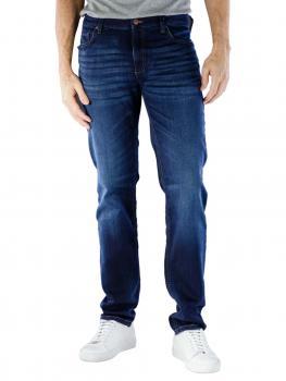 Image of Alberto Pipe Jeans Slim Cosy dark blue