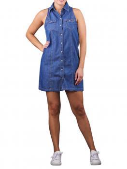 Image of Pepe Jeans Jess Denim Dress blue