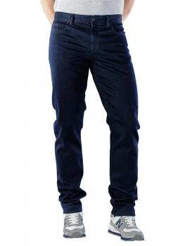 Image of Alberto Pipe Jeans Slim Coloured Luxury navy