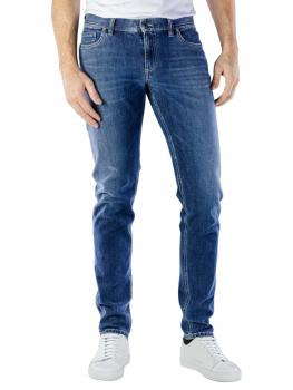Image of Alberto Slim Jeans Bi-Stretch Denim blue