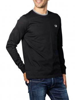 Image of Fred Perry Polo Shirt black