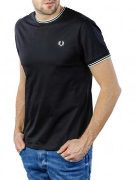 Image of Fred Perry Twin Tipped T-Shirt black