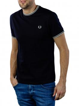 Image of Fred Perry Twin Tipped T-Shirt navy