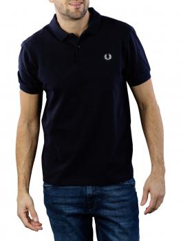 Image of Fred Perry Plain Polo Shirt navy