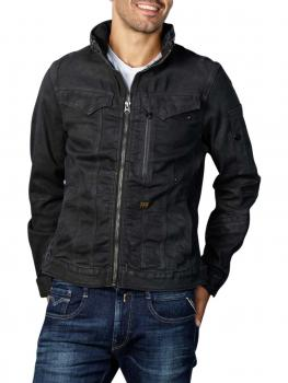 Image of G-Star Citishield Zip Jacket Originals waxed black cobler