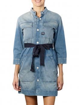 Image of G-Star Shirt Dress vintage marine blue