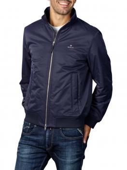 Image of Gant D1 Hampshire Jacket evening blue