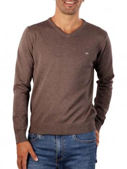 Image of Fynch-Hatton V-Neck Sweater earth