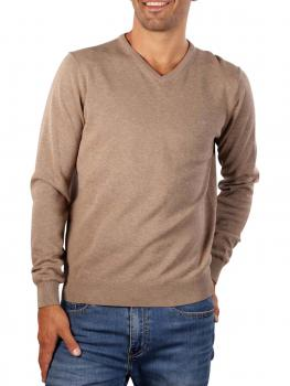 Image of Fynch-Hatton V-Neck Sweater taupe