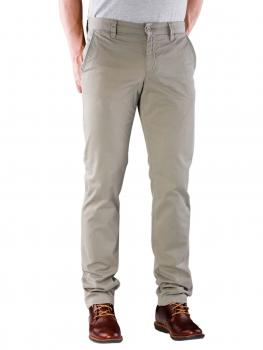 Image of Alberto Lou Pant Slim Compact Cotton olive