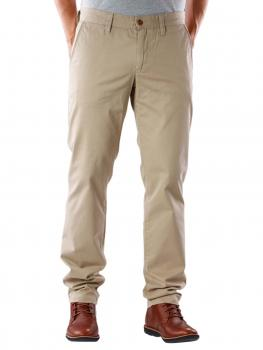 Image of Alberto Lou Compact Cotton Pant beige