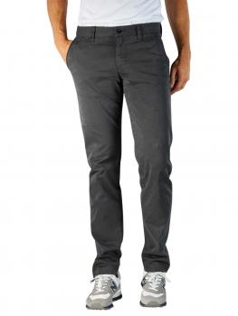 Image of Alberto Lou Pant Slim Pima Cotton dark grey