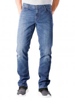 Image of Alberto Pipe Jeans Slim Coolmax Denim blue