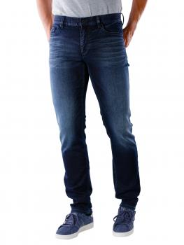 Image of Alberto Pipe Jeans Slim Cosy dark blue