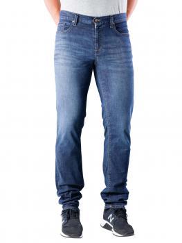 Image of Alberto Pipe Jeans Slim Tencel Denim dark blue