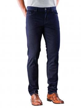 Image of Alberto Pipe Jeans Slim Overdyed dark blue