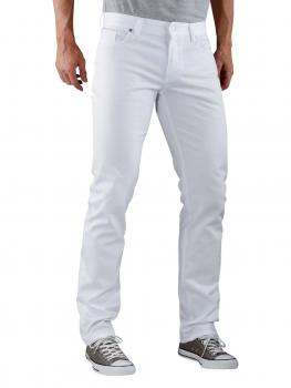 Image of Alberto Pipe Pant T400 white