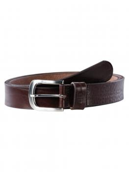 Image of Franky dark brown 35mm by BASIC BELTS