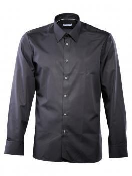 Image of Einhorn Hemd Jamie Modern Fit Kent bügelfrei black