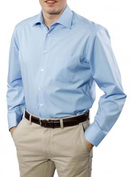 Image of Einhorn Hemd Derby Regular Fit Kent bügelfrei blue