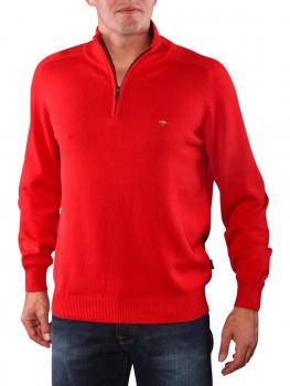 Image of Fynch-Hatton Troyer Zip Pullover red