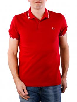 Image of Fred Perry Twin Tipped Shirt pomegranate