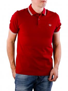 Image of Fred Perry Twin Tipped Shirt claret