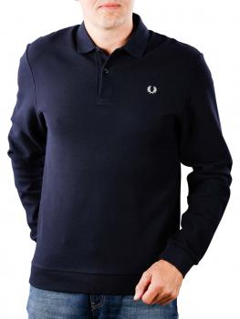 Image of Fred Perry Honeycomb Texture Polo navy
