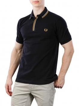 Image of Fred Perry Polo Shirt schwarz